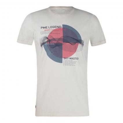 T-Shirt mit Print grau (9017 Moonstruck) | XXL