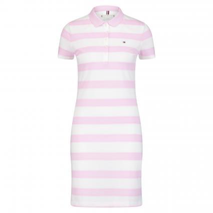 Kleid 'Chiara' mit Polo-Kragen pink (905 PINK) | M