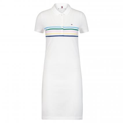 Kleid 'Chiara' mit Polo-Kragen weiss (125 WHITE) | XL