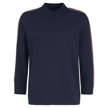 Sweatshirt 'Donna' mit Stehkragen  marine (403 BLUE) | L