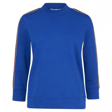 Sweatshirt 'Donna' mit Stehkragen  blau (494 BLUE) | S