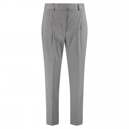 Hose mit Bundfalten grau (PX8 GREY) | 44