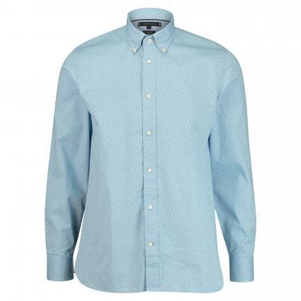 Regular-Fit Hemd mit Button-Down Kragen blau (0GY BLUE) | L