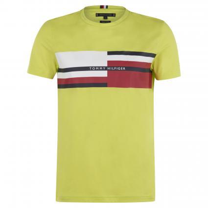 T-Shirt mit Logo-Print grün (LRE GREEN) | M