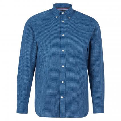 Regular-Fit Hemd mit Button-Down Kragen  blau (0GY BLUE) | XL