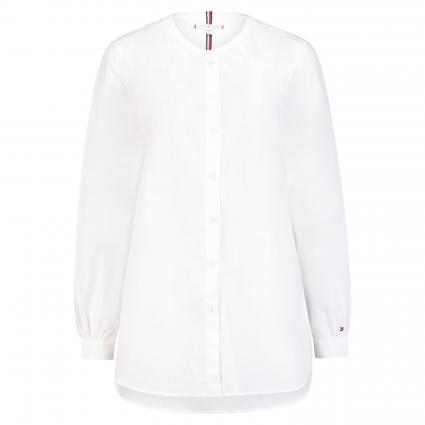 Bluse mit Stehkragen weiss (YBR WHITE) | 34