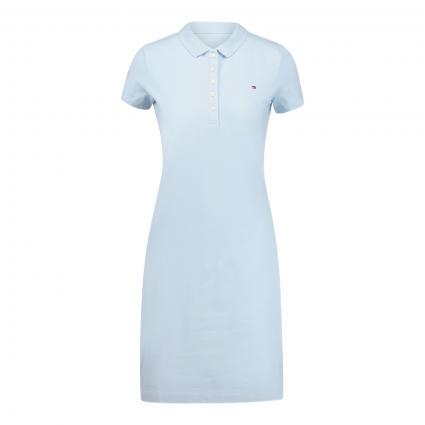 Kleid mit Polo-Kragen blau (C1O BLUE) | M