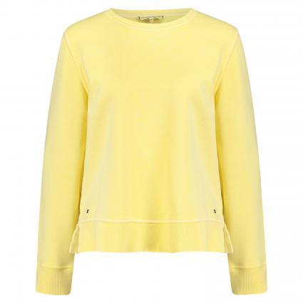 Sweatshirt mit Rundhalsausschnitt gelb (ZFB YELLOW)   S