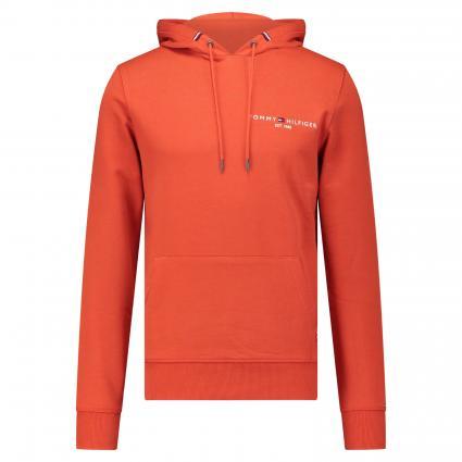 Hoodie mit Logo-Stitching orange (SNC ORANGE) | XXL