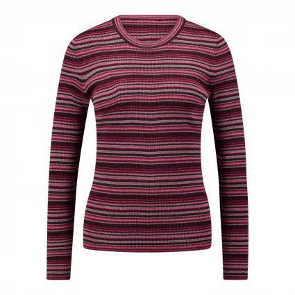 Langarmshirt mit Glitzergarn pink (03D PINK) | M