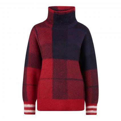 Pullover mit Rollkragen rot (09N RED) | L