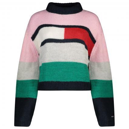 Pullover mit Color-Blocking  pink (TOJ PINK) | S
