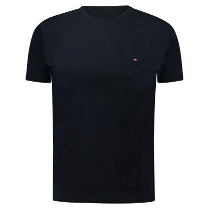 T-Shirt mit Label-Print blau (DW5 BLUE)   XL