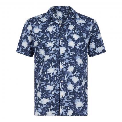 Regular-Fit Hemd mit Muster blau (0GY BLUE) | M