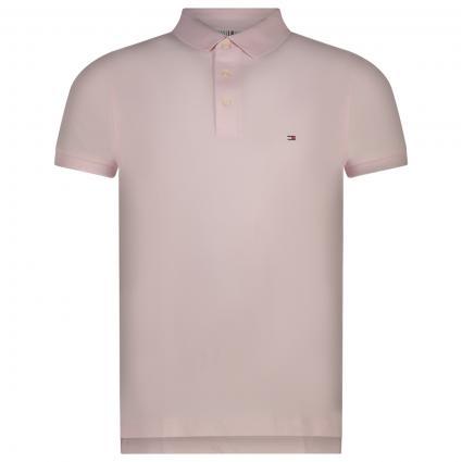 Slim-Fit Poloshirt mit Label-Stickerei  pink (TOG PINK) | XXL
