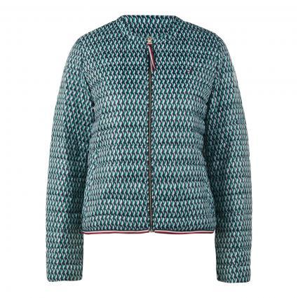 Leichte Daunenjacke mit Zipper-Taschen grün (0H9 GREEN) | XXL