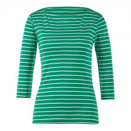 Shirt mit U-Boot Ausschnitt grün (0CG GREEN) | XXL