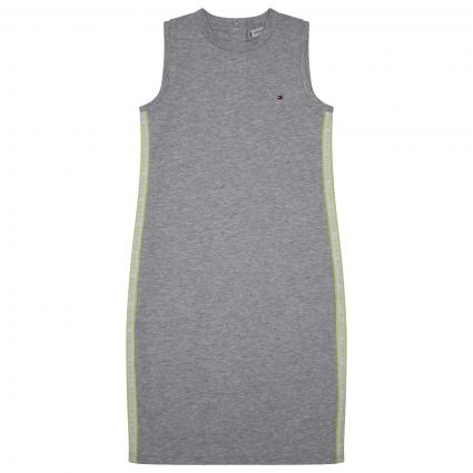 Sportliches Kleid mit Label Elementen  grau (P01 GREY) | 140