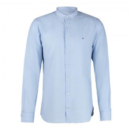 Slim-Fit Hemd 'Dobby' mit Musterung blau (0GY BLUE) | L
