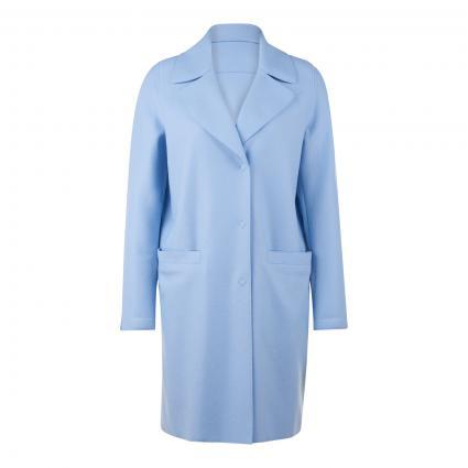Wollmantel 'Chiara' blau (9400 airblau)   36