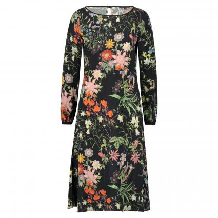 Knieumspielendes Kleid mit floralem Print divers (F00 combo) | 40