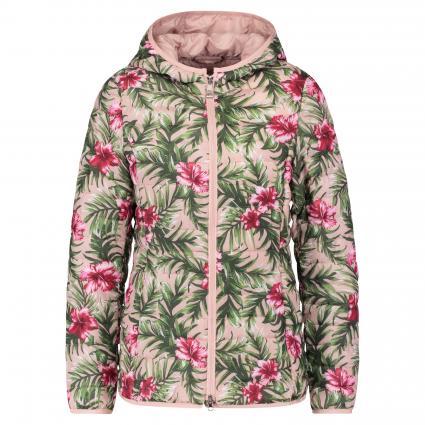 Steppjacke mit floralem Muster rose (0070 ROSA/PINK)   38