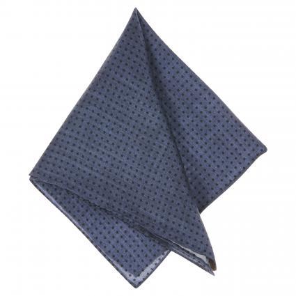 Einstecktuch aus Seide blau (2) | 0