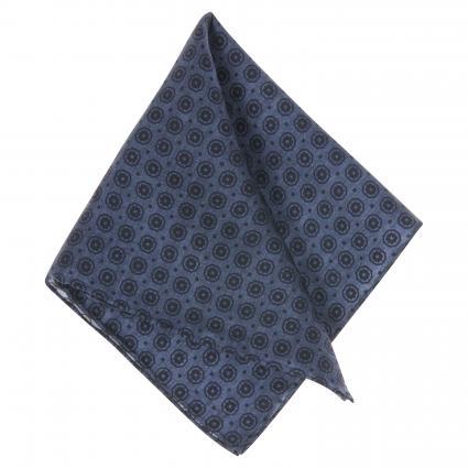 Einstecktuch aus Seide blau (4) | 0