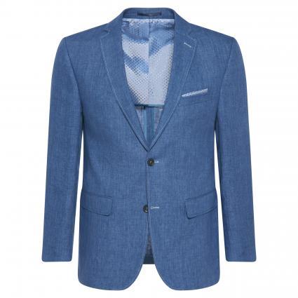 Sakko aus Leinen blau (61 blau hell)   30