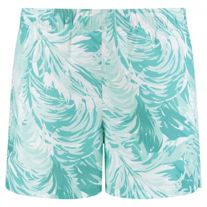 Badehose 'Wave' mit All-Over Print türkis (355 Pool Green) | XL