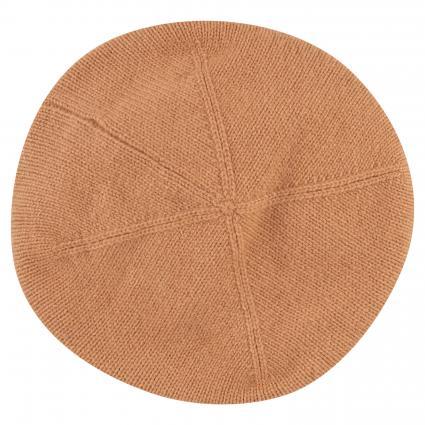 Baskenmütze aus reinem Cashmere beige (920 camel) | 0