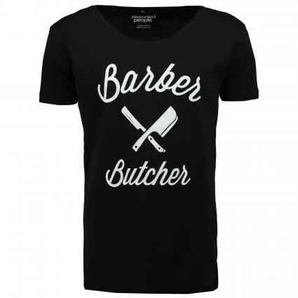 T-Shirt 'BB Blades' schwarz (black) | S