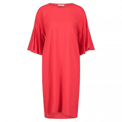 Kurzes Kleid 'Penelope' mit Volant-Ärmeln orange (373 papaya)   S