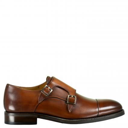 Business Schuh 'Clyde' aus Leder cognac (ELBA CASTAGNA) | 43