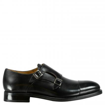 Business Schuh 'Clyde' aus Leder schwarz (ORLEANS BLACK)   45