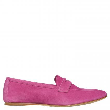 Slipper aus Leder pink (CAMOSCIO FUXIA)   37,5