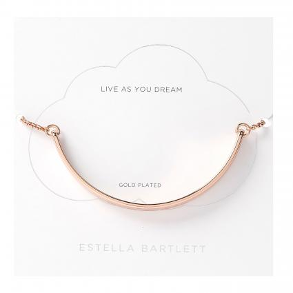 Armband 'Live as you Dream' rose (ROSE GOLD PLATED) | 0
