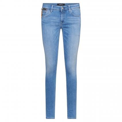 Skinny-Fit Jeans 'Luz' mit Used-Waschung blau (010) | 25 | 32