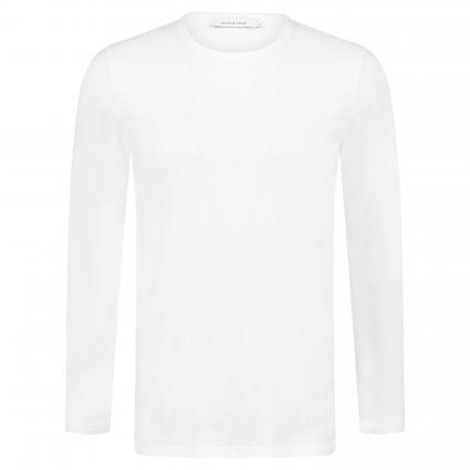 Langarmshirt 'Lassen' weiss (white) | XL