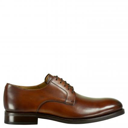 Business Schuh 'Mersey' aus Leder cognac (ELBA CASTAGNA) | 40