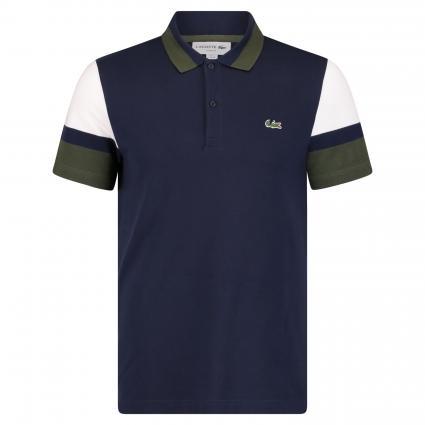 Poloshirt mit Kontrastdetails marine (9MY navy) | S