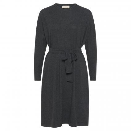 Kleid 'Pipoun' mit Bindegürtel  grau (ANTHRACITE) | XS/S