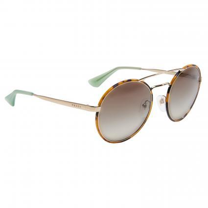 Sonnenbrille mit runden Gläsern gold (UAO1C0  PALE GOLD) | 0