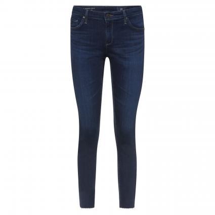 Skinny-Fit Jeans 'Legging Ankle' in Used-Optik blau (CONR) | 28