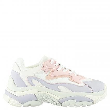 Sneaker mit Plateausohle weiss (LAVENDER/WHITE/BABYR)   39