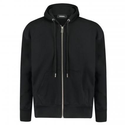 Sweatjacke 'S Alby' mit Kapuze schwarz (900 black) | XL