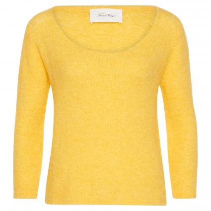 Cropped Pullover 'Wox' gelb (LIMONCELLO) | M