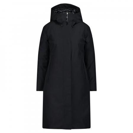 SAVE THE DUCK Smag Jacket Black Wasserabweisender Mantel