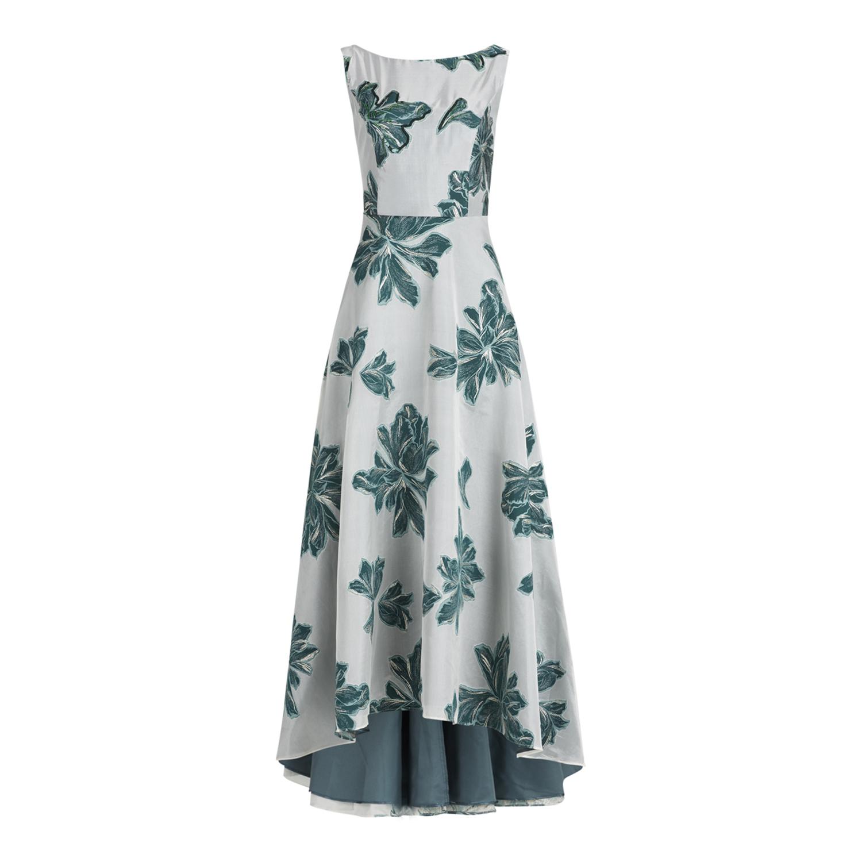 Vera Mont Kleid Mit Blumenmuster Und Pailletten Details Konen