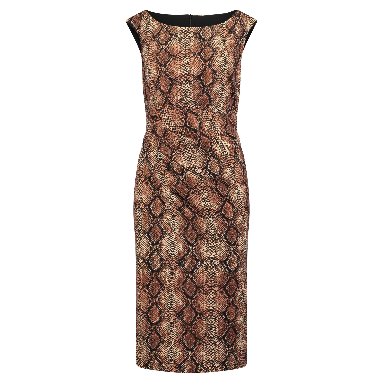 professionelles Design größte Auswahl an Schönheit Kleid mit Schlangen-Muster